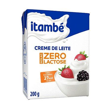 CREME DE LEITE ITAMBE 200G ZERO