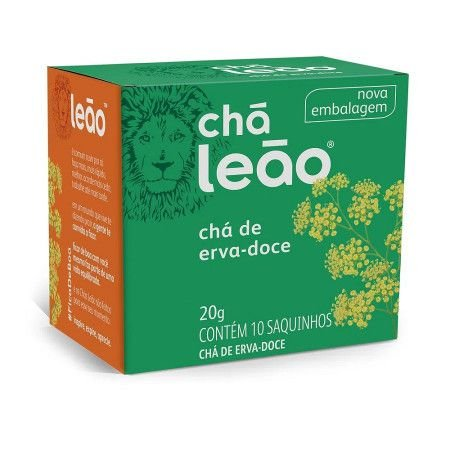 CHA LEAO 10G ERVA-DOCE