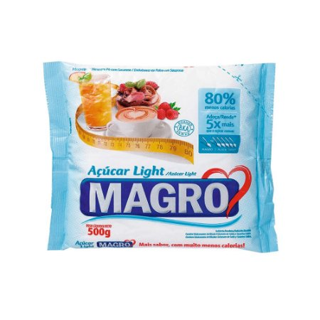 ACUCAR MAGRO 500G LIGHT