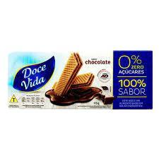 BISC DOCE VIDA DIET 115G WAFER CHOCOLATE ZERO ACUCAR