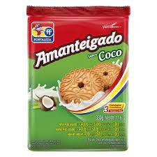 BISCOITO FORTALEZA 330G AMANTEIGADO COCO