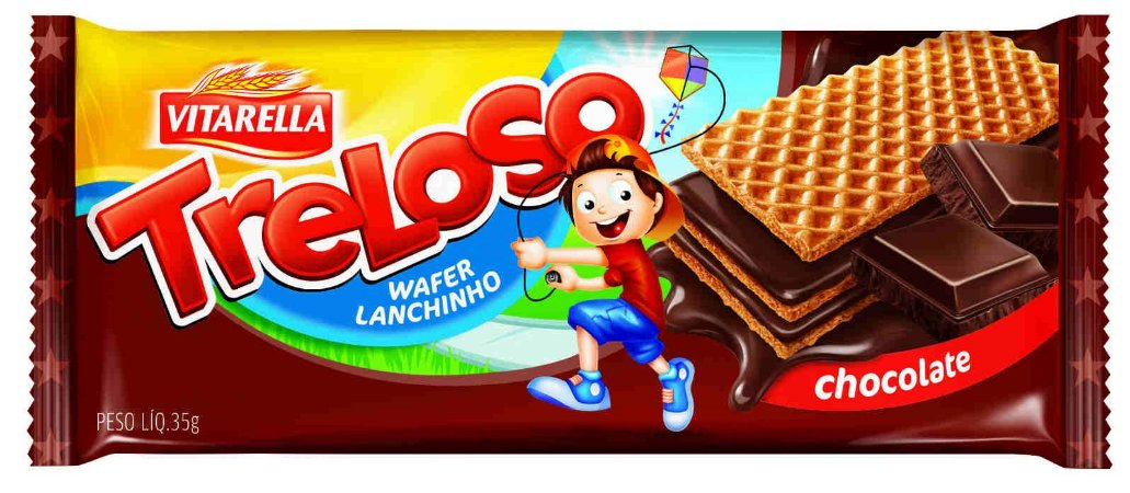BISCOITO VITARELLA 35G WAFER CHOCOLATE