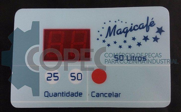 Placa Comando Membrana Cafeteira Magicafé 50L Universal