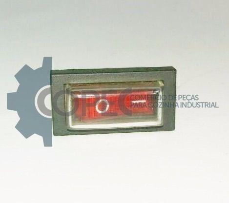 Chave L/D Fina Vermelha Liquidificador LT 2.0 Super Skymsen