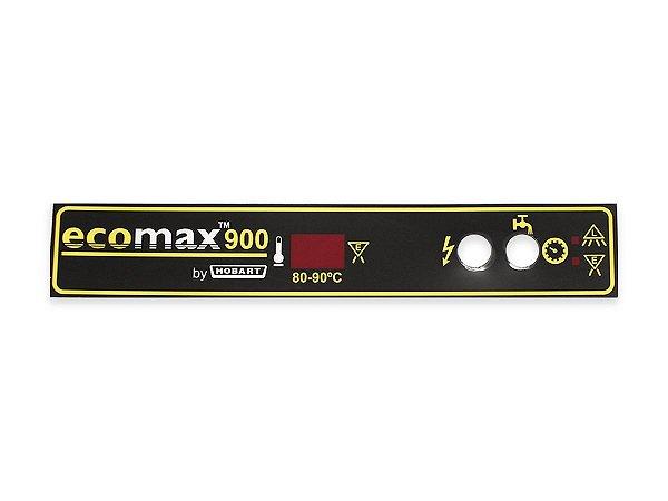 Etiqueta Painel Lava Louças ECOMAX900 Hobart
