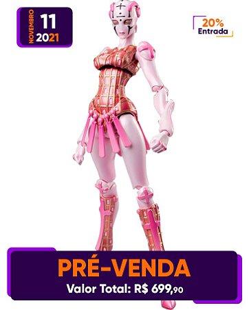 [Pré-venda] Super Action Statue JoJo's Bizarre Adventure Part 5: Spice Girl