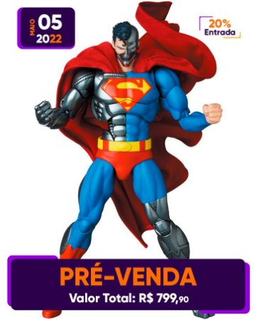 [Pré-venda] Mafex #164 Return of Superman: Cyborg Superman