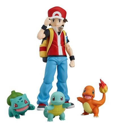 figma #356 Pokemon - Red -Original-