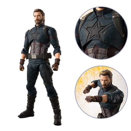 S.H.Figuarts Capitão América - Vingadores: Guerra Infinita - Original