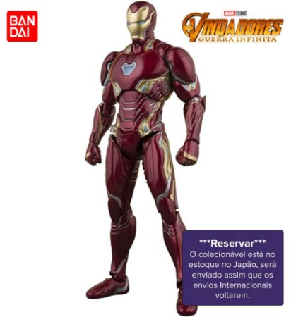 [RESERVAR] S.H. Figuarts Homem de Ferro Mark 50 - Vingadores: Guerra Infinita [Original]