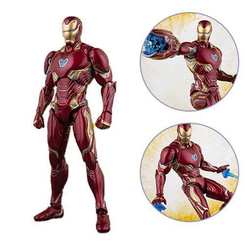 S.H.Figuarts Homem de Ferro Mark 50 - Vingadores: Guerra Infinita - Original