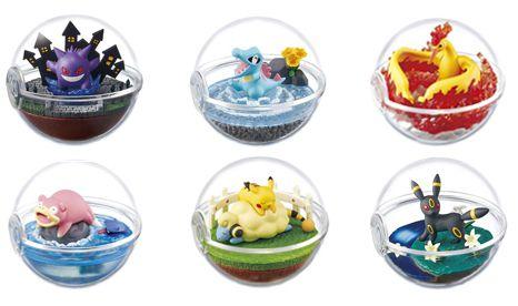 Pokemon Terrarium: Coleção #04 [Valor Individual]