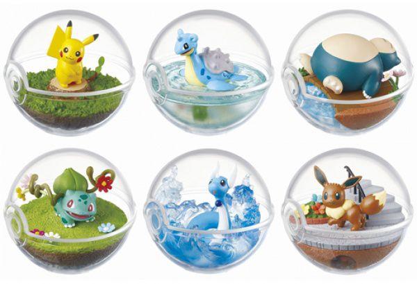 Pokemon Terrarium: Coleção #01 [Valor Individual]