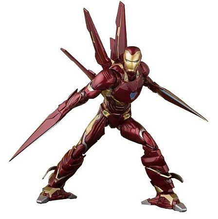 S.H Figuarts Iron Man Mk 50 Nano Weapon Set Avengers Infinity War - Original *Pré-Venda*