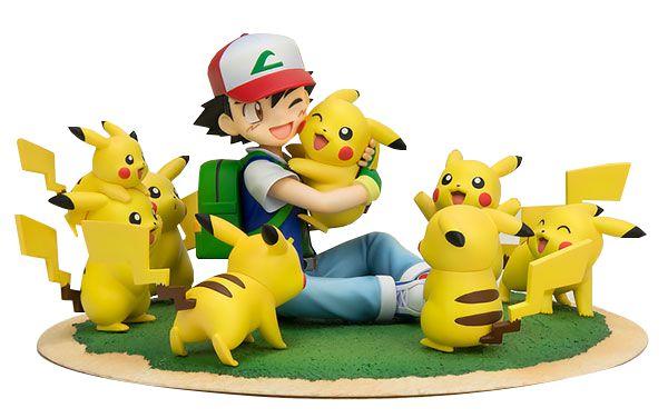 G.E.M. Series: Ash Ketchum & Pikachu (Many Pikachu Ver.) Original