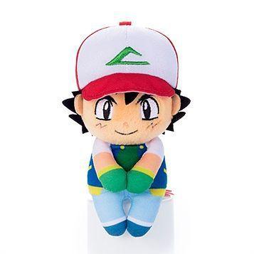 Pelúcia Pokemon Ash Ketchum Chokkori-san Original Takara tomy