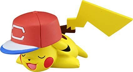 Pokémon Moncollé EX-EMC 25 Ash's Pikachu (Alola Cap Ver.) Original