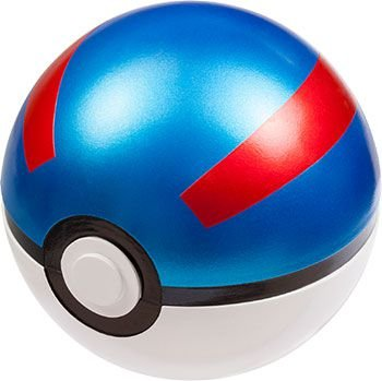 Pokémon MonCollé - Pokeball: Great Ball (Pokebola) Original