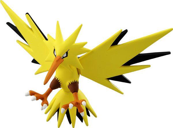 Pokémon MonCollé EX EHP-04 Zapdos -Original-
