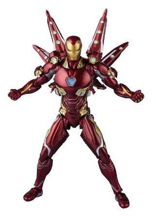 S.H.Figuarts - Iron Man Mark 50 Nano-Weapon Set (Avengers: Endgame) -Original-