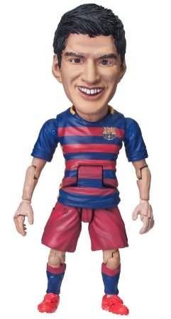 Action Figure FC Barcelona Suarez - ToysRocka -Original-