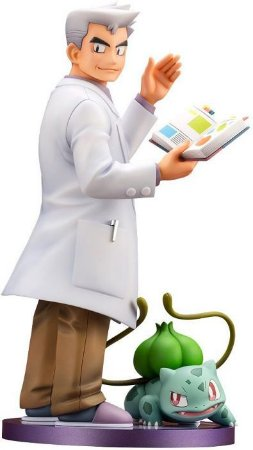 ARTFX J Pokemon: Professor Carvalho & Bulbassauro