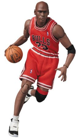 Mafex #100 Michael Jordan [Chicago Bulls]