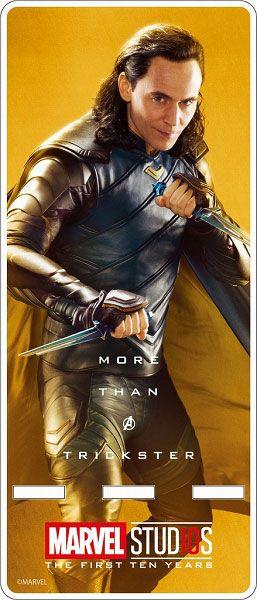 Marvel Studio 10th Anniversary / Acrylic Smartphone Stand Loki