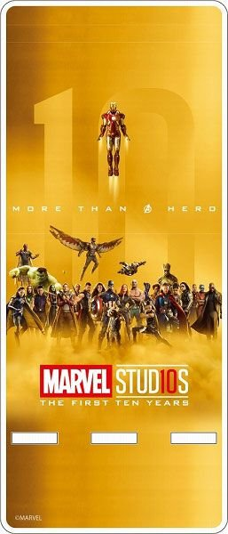 Marvel Studio 10th Anniversary / Acrylic Smartphone Stand Main Visual