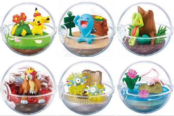 Pokemon Terrarium: Coleção #06 [Valor Individual]