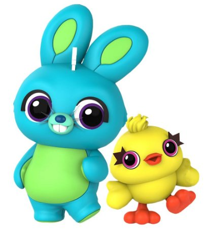 "CosBaby ""Toy Story 4"" Ducky & Bunny -Original-"
