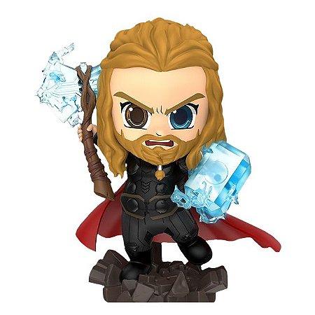 CosBaby Thor (com Stormbreaker & Mjolnir) - Vingadores: Ultimato [Original Hot Toys]