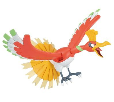 Pokémon Ho-Oh Plamo Collection -Original-