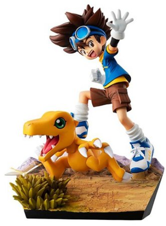 G.E.M.Séries Digimon Adventure - Yagami Taichi & Agumon 20th Anniversary [Original MegaHouse]