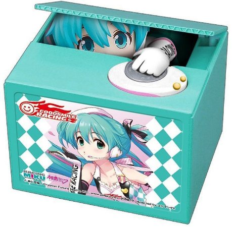 Hatsune Miku GT Project: Racing Miku 2019 - Talking Coin Bank 001 -Original-