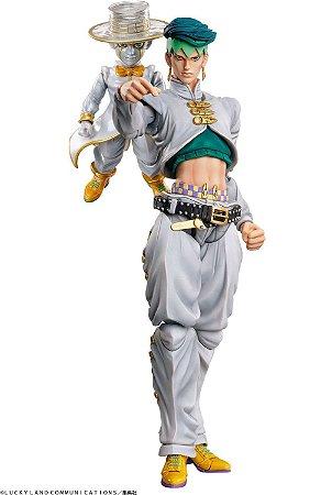 Super Action Statue JoJo's Bizarre Adventure Parte 4: Kishibe Rohan & Heaven's Door