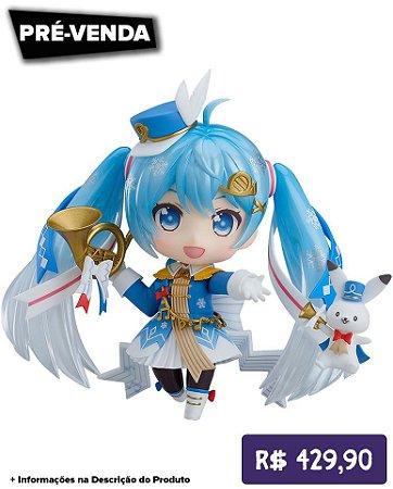 *Pré-venda* [10% de ENTRADA] Nendoroid #1250 - Character Vocal Series 01: Hatsune Miku - Snow Parade - Edição Limitada -Original-