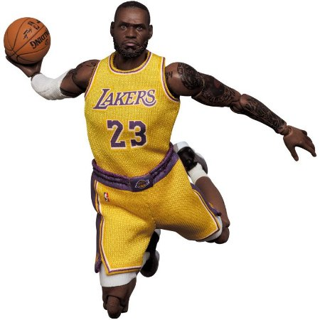 Mafex #127 LeBron James [Los Angeles Lakers]