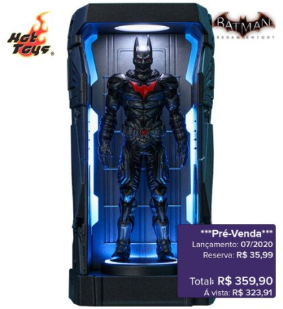*Pré-venda* [10% de ENTRADA] Batman: Arkham Knight Series 1 - Batman Beyond -Miniature Collectible- [Original]