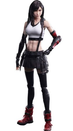 [Junho/2021] Play Arts Kai Final Fantasy VII Remake: Tifa Lockhart