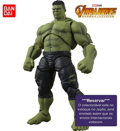 [RESERVAR] S.H. Figuarts Hulk - Vingadores: Guerra Infinita [Original]
