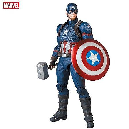 [Julho 2021] Mafex #130 Capitão América [Vingadores: Ultimato]