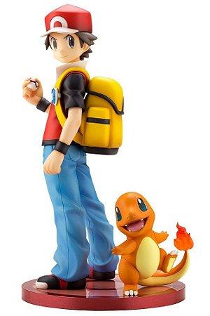 *Pré-venda* [10% de Entrada] Artfx J Pokemon: Red e Charmander [Original Kotobukiya]