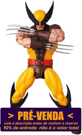 [Reservar: 10% de Entrada] Mafex #138 Wolverine [X-Men - Brown Comic]