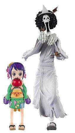 Figuarts ZERO One Piece: Brook [Honekichi] & O-Tama
