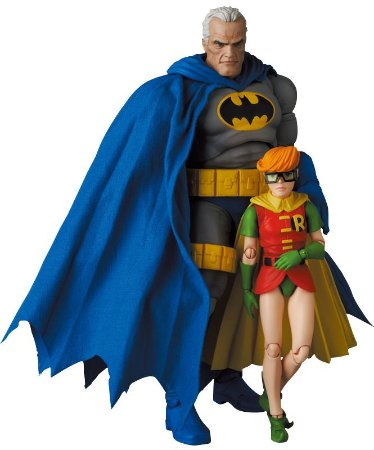 [Outubro 2021] Mafex #139 Batman Blue & Robin [The Dark Knight Returns]