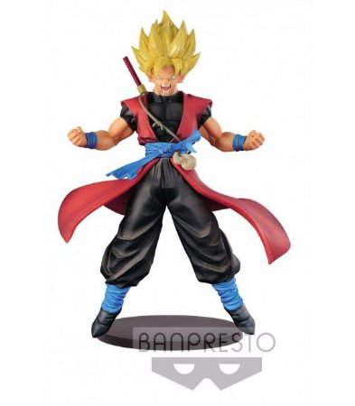 [Semi Novo] Dragon Ball Heroes: Son Goku SSJ Xeno DXF 7Th Anniversary