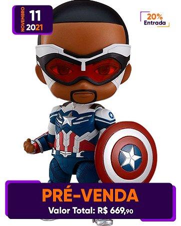 [Pré-venda] Nendoroid #1618-DX Falcon & Winter Soldier: Sam Wilson Captain America