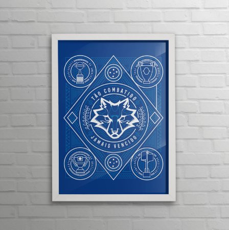 Quadro do Cruzeiro - Taças