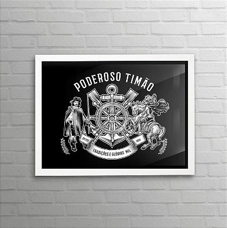Quadro do Corinthians - Todo Poderoso